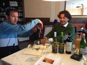 Rote und Weiße Raritäten edeln die Weinkarte und werden verkostet...