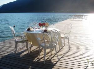 Ein Highlight - überraschen Sie Ihren Partner mit einem Private Dinner am See