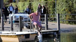 Horst Lichter zu Besuch am Kalterer See